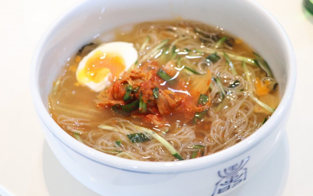 Korean chilled noodle(Mul-naengmyeon, 물냉면)