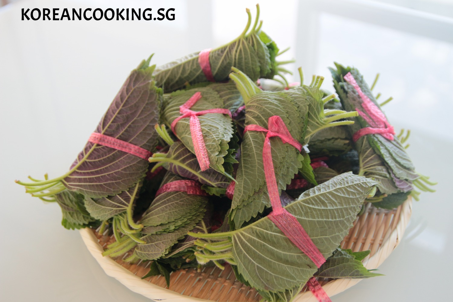 KOREANCOOKING. PERILLA LEAVES