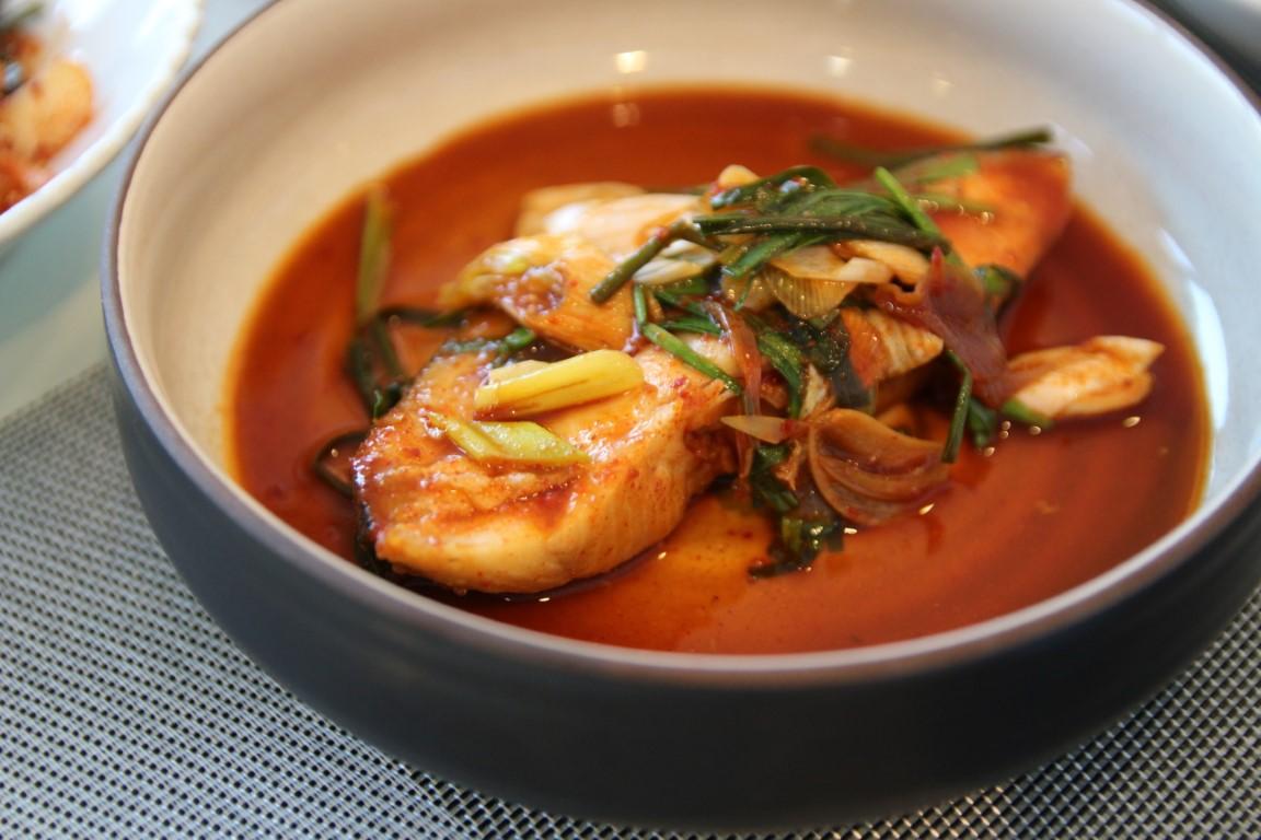 Spicy cod fish