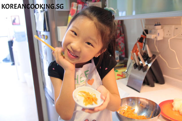 SOPHIE'S COOKING CARROT NAMUL