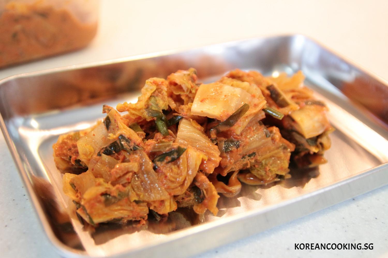 KOREANCOOKING KIMCHI SOUP JJIGAE