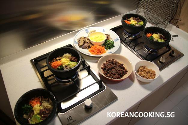 Korean stone pot bibimpap