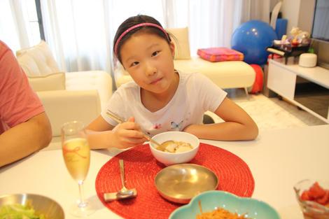 Korean rice cake soup (Tteokguk, ??)