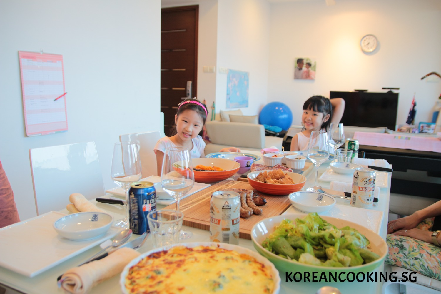 BBQ DINNER WITH FRIENDS
