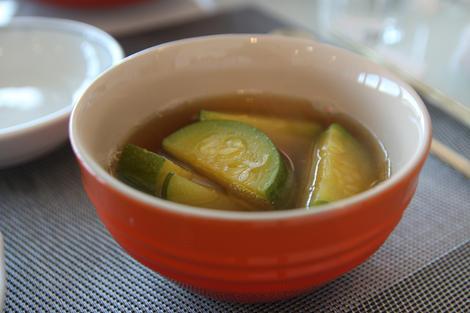 Korean squash soup