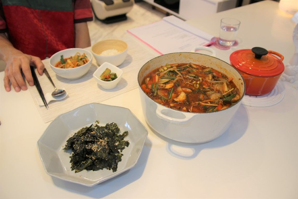 Korean spicy beef soup Yukgaejang ???
