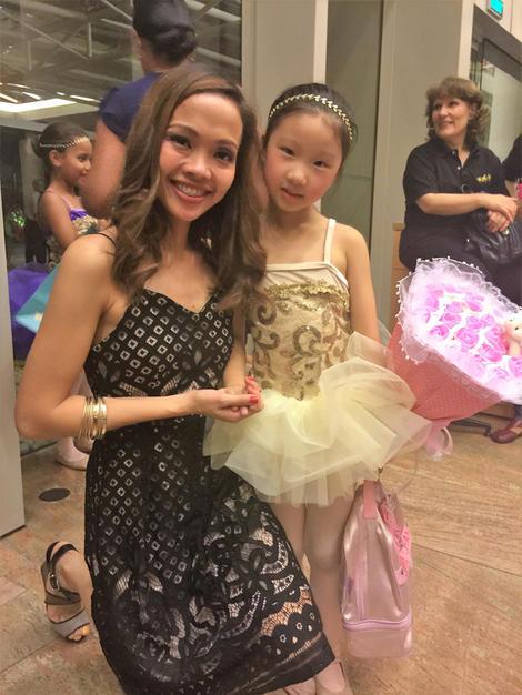 Her ballet teacher