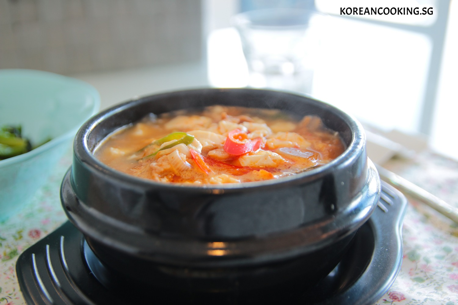 Jjigae (Spicy soup)