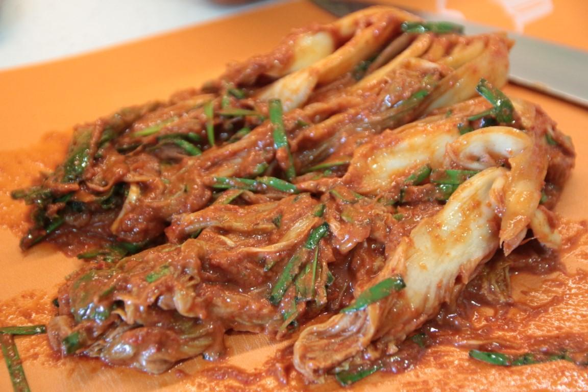Heryong's kimchi