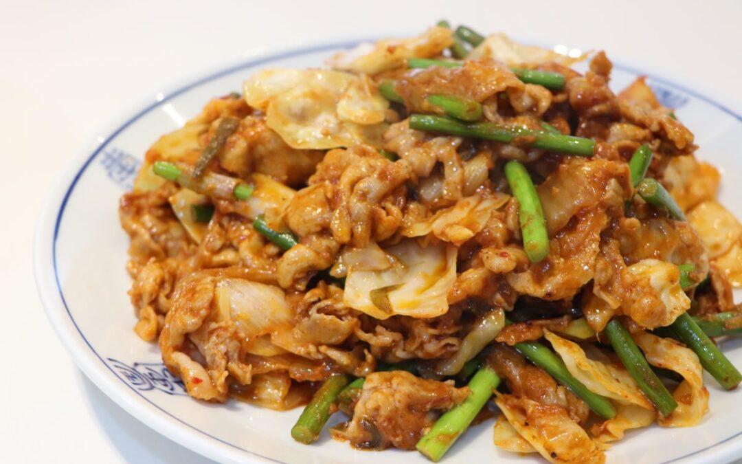 Kimchi+pork=super yum!