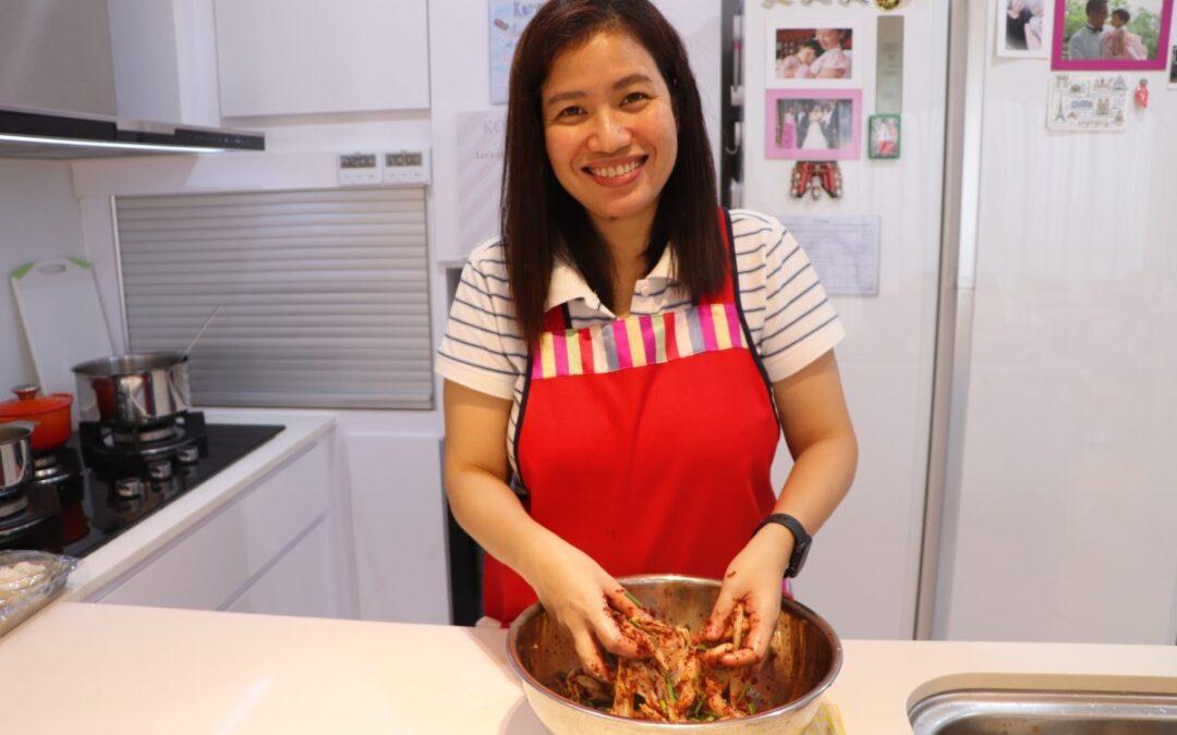 We love Fresh napa cabbage kimchi!