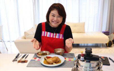Komatsuna kimchi lesson!