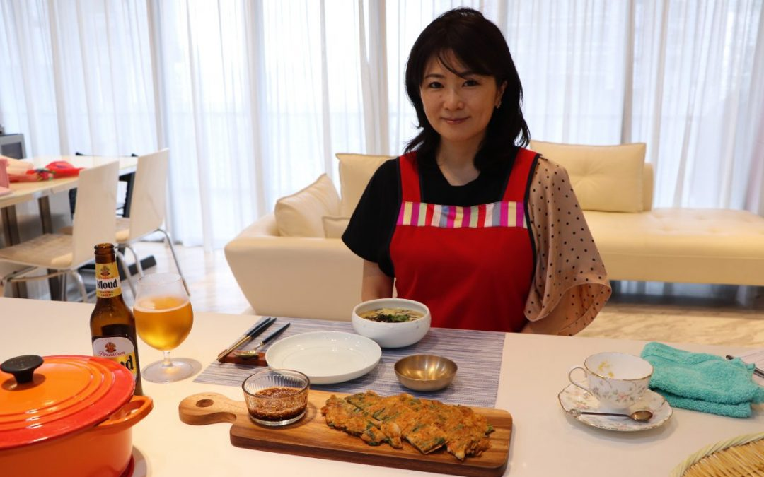 Cooking class with Mayuko san