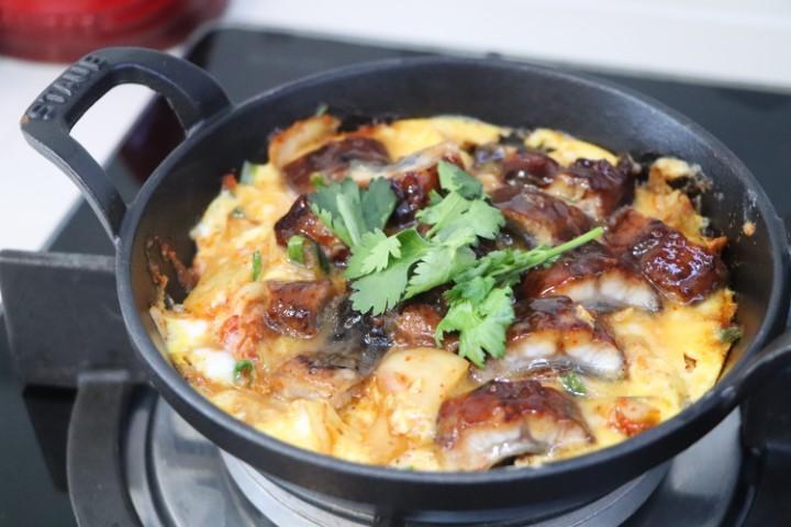 Lesson: Unagi kimchi Don