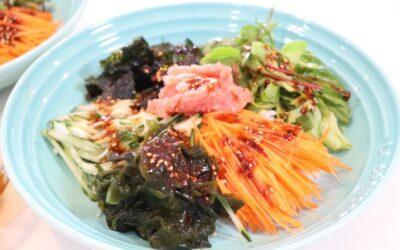 Tarako& fresh vege bibimbap